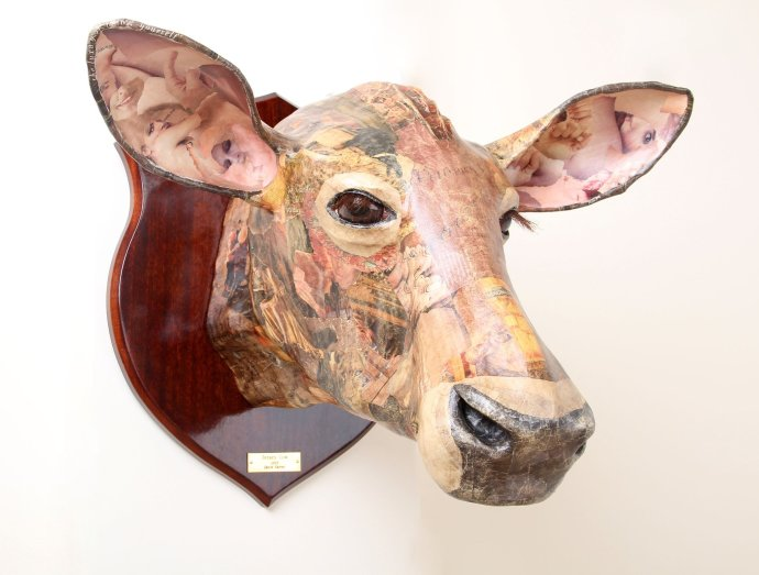 David Farrer, Jersey Cow, 2013