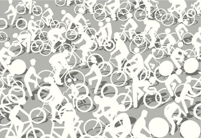Phil Shaw, Cycle Path, 2008