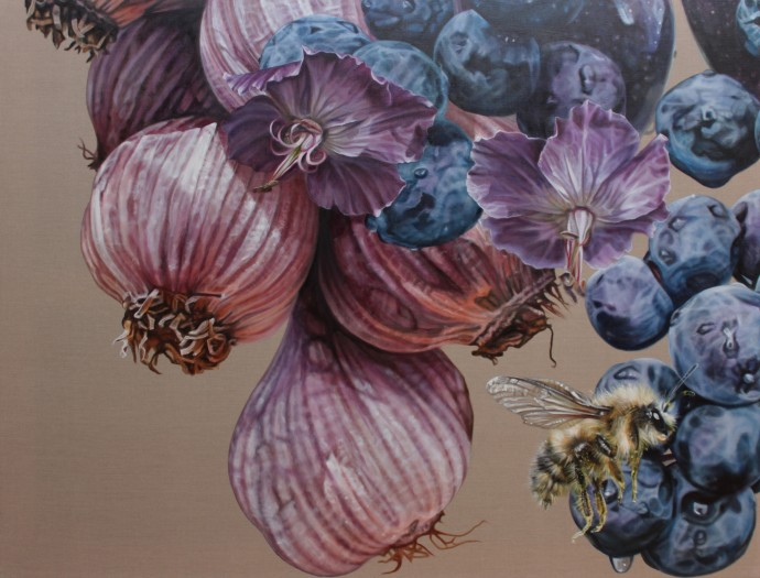 Anne Middleton, Garlic. Guard thy heart, 2015