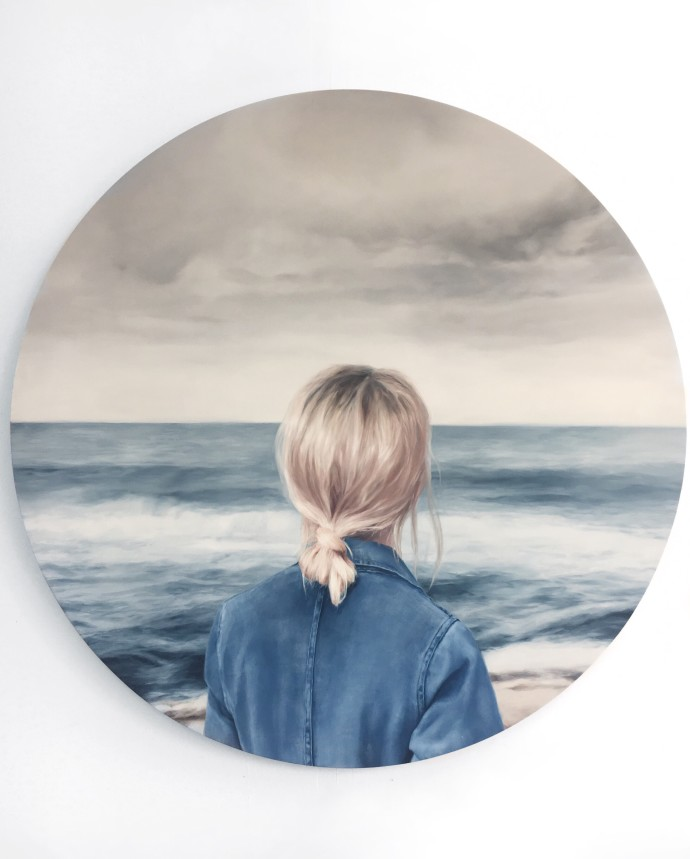<div class=&#34;artist&#34;><strong>Marine-Edith Crosta</strong></div><div class=&#34;title&#34;><em>Wanderer 3</em>, 2017</div><div class=&#34;medium&#34;>oil on birch panel</div><div class=&#34;dimensions&#34;>90 cm diameter</div>