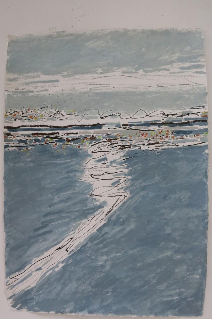 Barbara Macfarlane, Pebble Beach, 2014