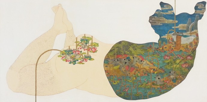 Song-Nyeo Lyoo, Horse III, 2013-2014