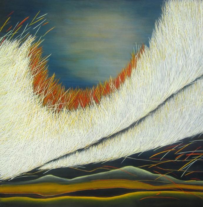 Yvonne Mills-Stanley, Grass Travels IV, 2014