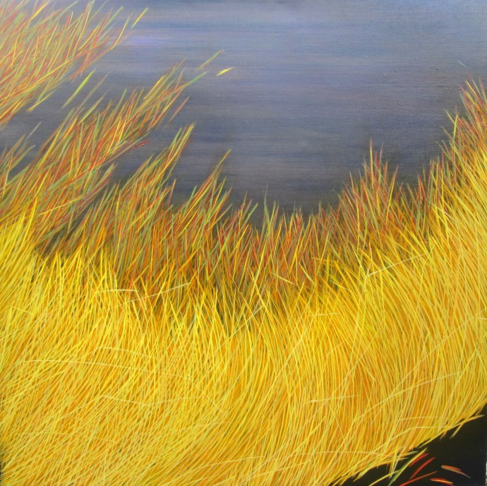 Yvonne Mills-Stanley, Grass Travels I, 2014