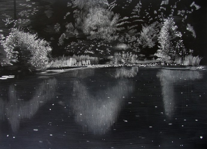 Sheila Clarkson, Light and Reflections 4, 2016