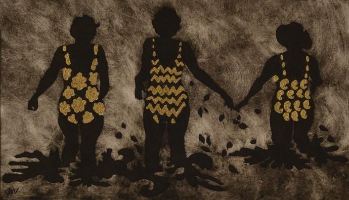 Dione Verulam, The Rhine Maidens (I), 2014