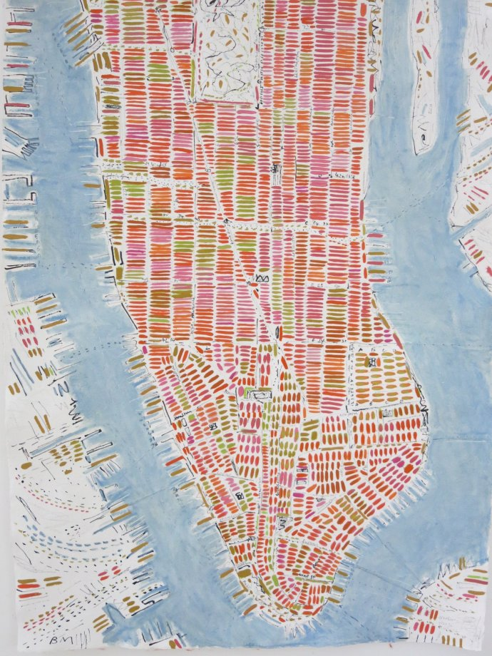 Barbara Macfarlane, Pale Manhattan, 2013