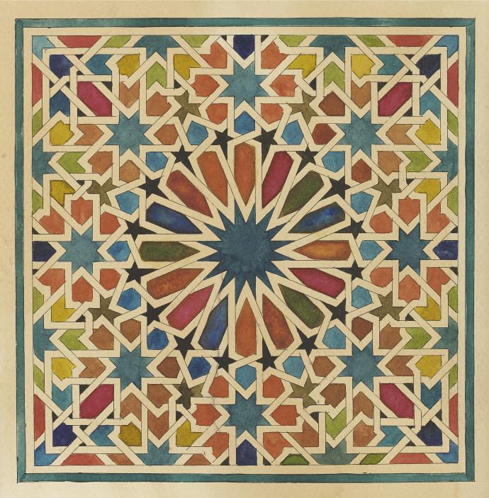 <div class=&#34;artist&#34;><strong>Lucy Temple</strong></div><div class=&#34;title&#34;><em>Antonia</em>, 2017 </div><div class=&#34;medium&#34;>watercolour on tea stained watercolour paper</div><div class=&#34;dimensions&#34;>110 x 110 cm (unframed) <br>43 1/4 x 43 1/4 in</div>