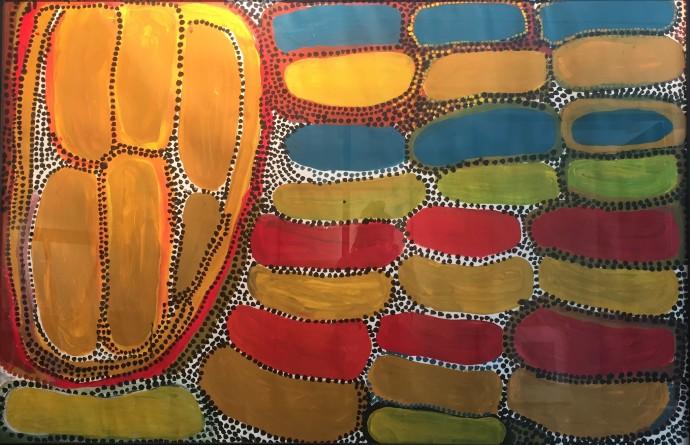 <div class=&#34;artist&#34;><strong>Wakartu Cory Surprise</strong></div> (1929-2011)<div class=&#34;title&#34;>Untitled, 1996</div><div class=&#34;medium&#34;>acrylic on velin</div><div class=&#34;dimensions&#34;>106 x 158 cm (framed)</div>
