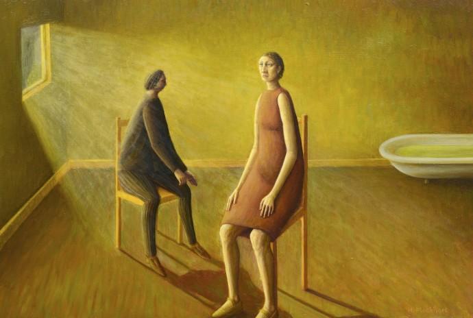 Helen Flockhart, Yellow Room, 2014