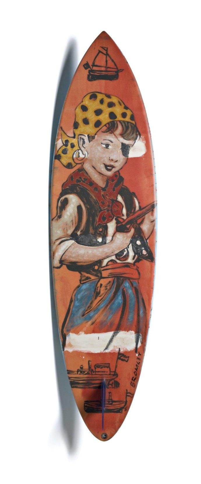 David Bromley, Surfboard