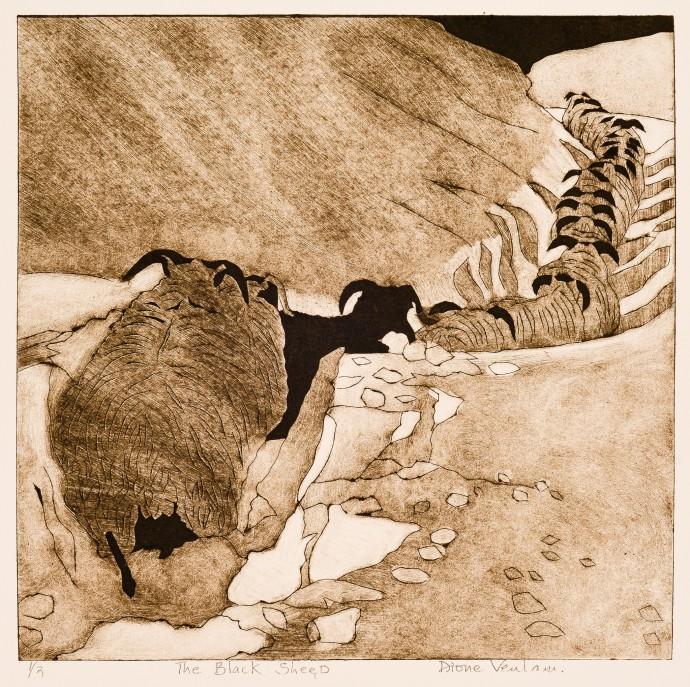 Dione Verulam, The black sheep, 2014