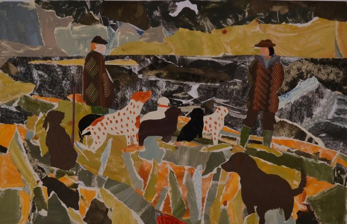 Dione Verulam, Beside the Tweed in Winter III, 2014