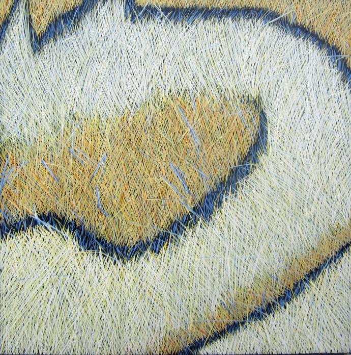 Yvonne Mills-Stanley, Following Grass I, 2014