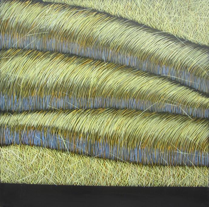 Yvonne Mills-Stanley, Grass Memories I, 2014