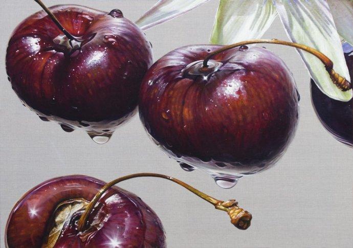 Anne Middleton, Prunus avium, 2012