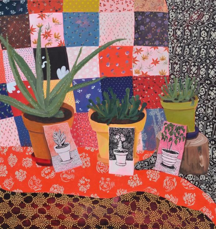 Anna Valdez, Plants, 2014
