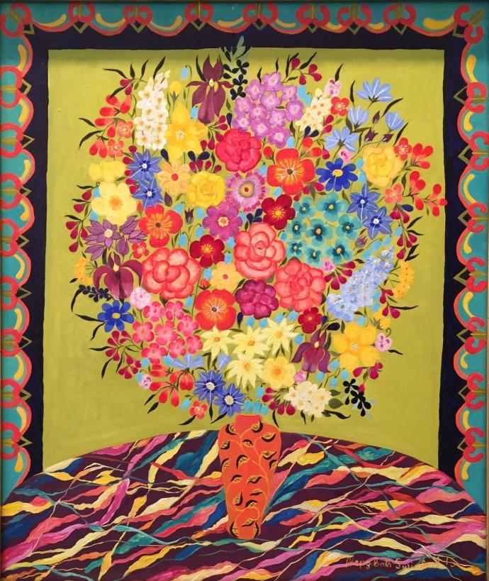 Hepzibah Swinford, Herbacious Flowers, 2015