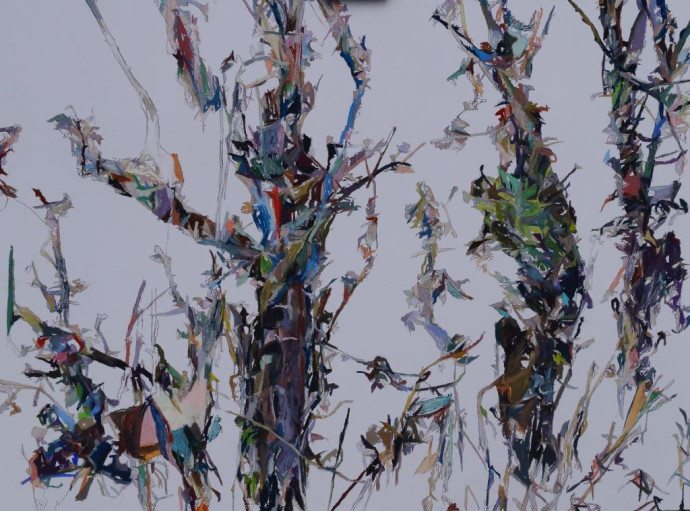 Patricia Cain, Three Trees, 2017