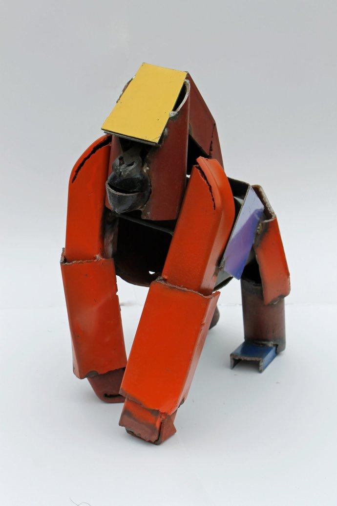 Iain Nutting, Gorilla Violet Orange, 2013