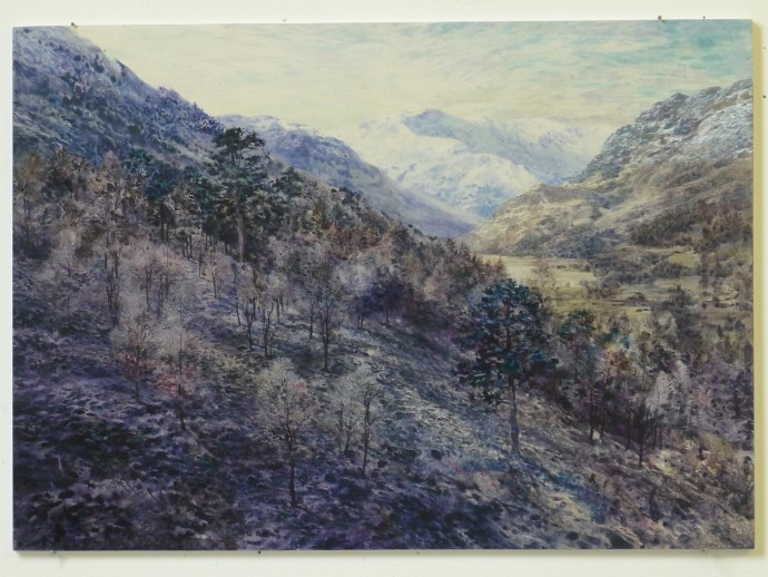 David Forster, Over yonder lies the great mountain (Glen Nevis), 2014