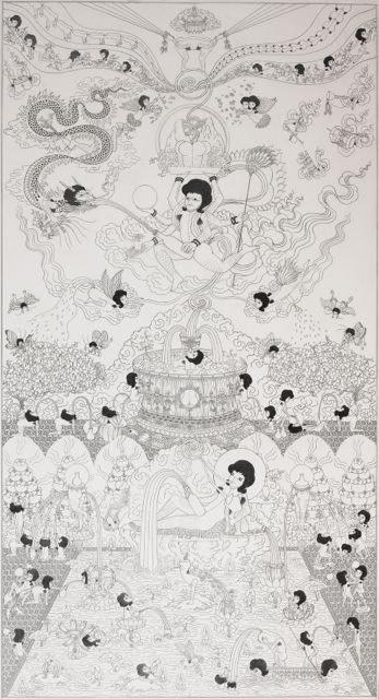 Song-Nyeo Lyoo, Paradise IV, 2010