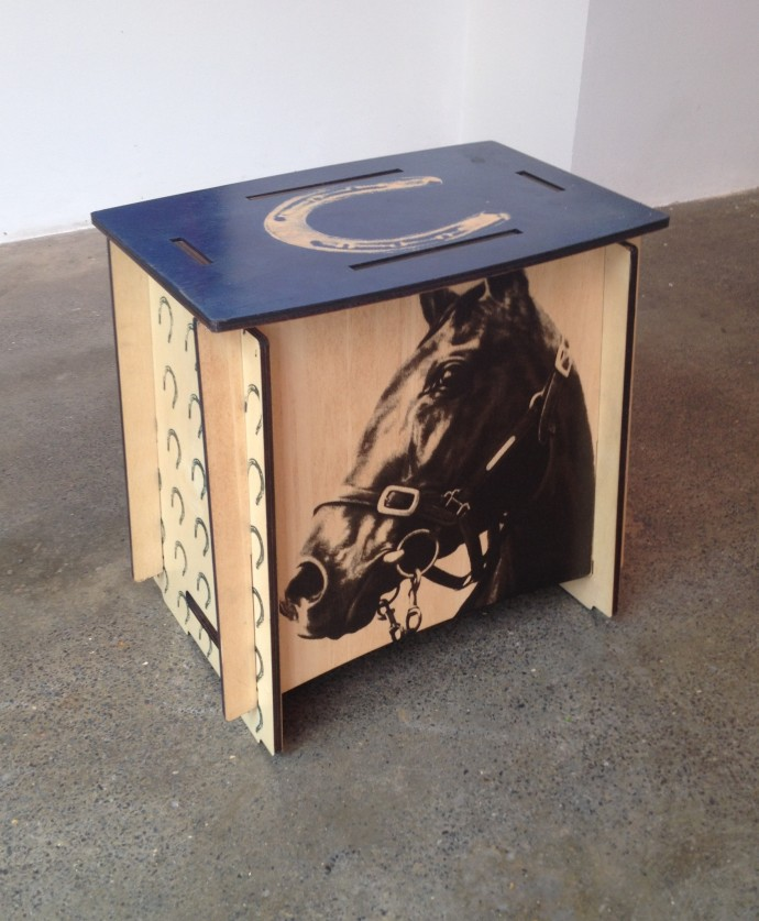 Angus McDonald, Zaishu Equine Sustainable Stool, 2008