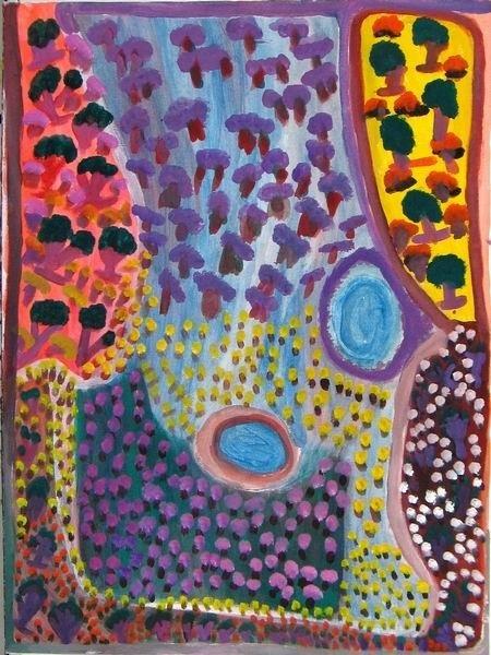 <div class=&#34;artist&#34;><strong>Jukuna Mona Chuguna</strong></div><div class=&#34;title&#34;><em>Mututa</em>, 2004</div><div class=&#34;medium&#34;>synthetic polymer paint on canvas</div><div class=&#34;dimensions&#34;>80 x 60 cm<br>31 1/2 x 23 5/8 in</div>