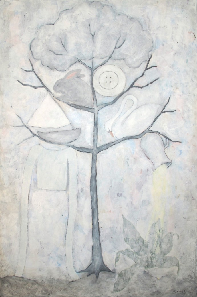 Rebecca Rebouché, Ghost Tree, 2014