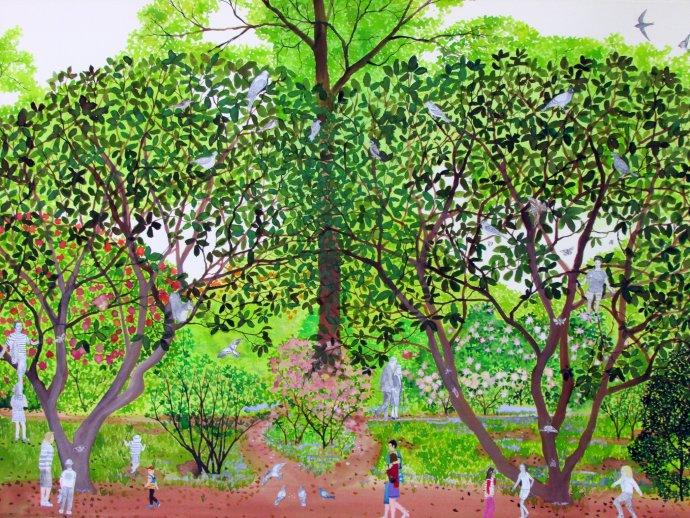 Emma Haworth, Secret Garden I, 2013