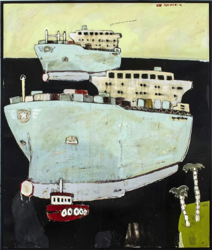 Rob Tucker, These Containers are Full of Lime Chutney, 2014