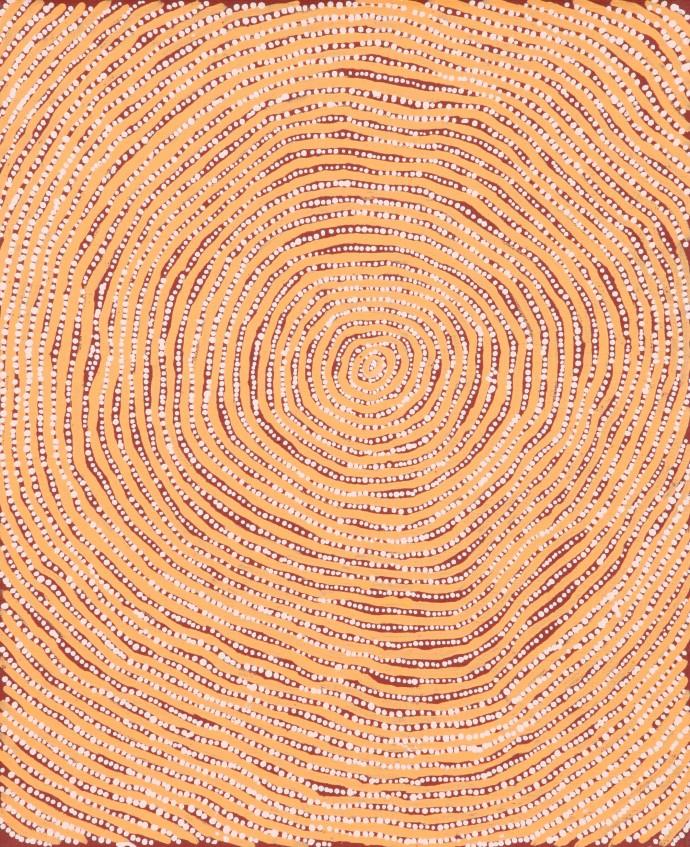 <div class=&#34;artist&#34;><strong>Charlie Tjapangati</strong></div><div class=&#34;title&#34;><em>Manakurranya</em>, 2016</div><div class=&#34;medium&#34;>synthetic polymer paint on Belgian linen</div><div class=&#34;dimensions&#34;>46 x 38 cm </div>