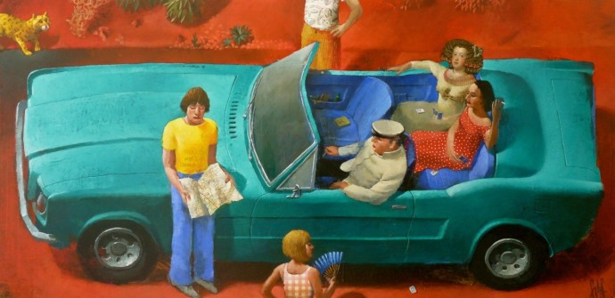 <div class=&#34;artist&#34;><strong>Sylvain Lefebvre</strong></div><div class=&#34;title&#34;><em>Lost In The Desert</em>, 2016</div><div class=&#34;medium&#34;>mixed media</div><div class=&#34;dimensions&#34;>60 x 120 cm<br>23 5/8 x 47 1/4 in</div>