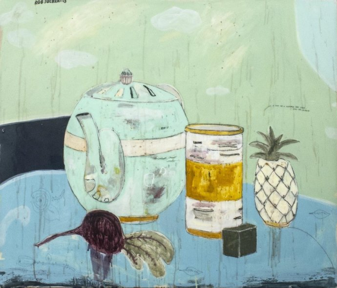 Rob Tucker, A study for a pineapple tart styled still life, 2013