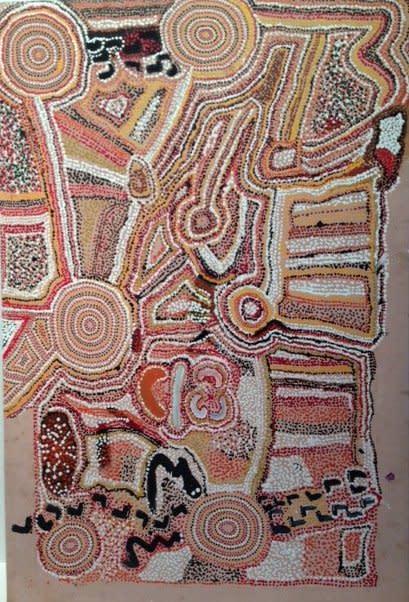 Palmer Gordon Tjapangka, Untitled, 1996