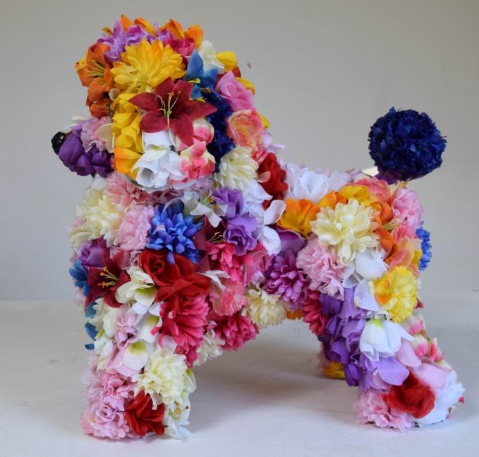 Robert Bradford, Flower Poodle 2, 2016