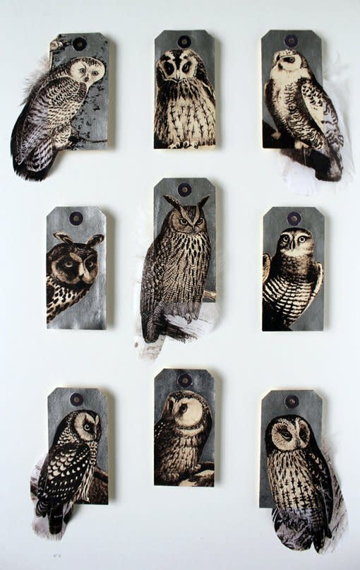 Rebecca Jewell, Silver Owls, 2013