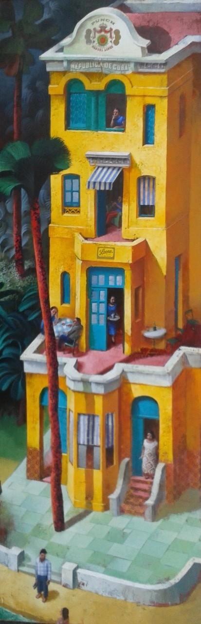<div class=&#34;artist&#34;><strong>Sylvain Lefebvre</strong></div><div class=&#34;title&#34;><em>The Yellow Building</em>, 2016</div><div class=&#34;medium&#34;>mixed media</div><div class=&#34;dimensions&#34;>150 x 50 cm<br>59 1/8 x 19 3/4 in</div>