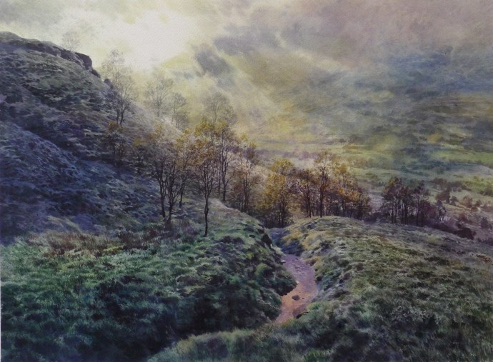 David Forster, And went forth over mountain and valley (Killin), 2014