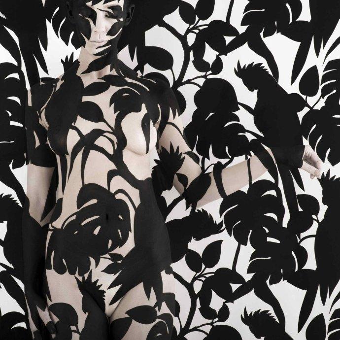 Emma Hack, Wallpaper Black Cockatoos, 2008