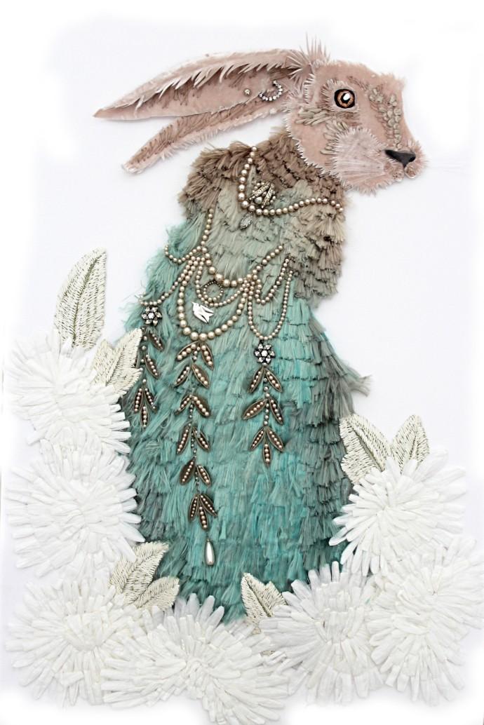 Karen Nicol, Hare Piece, 2014