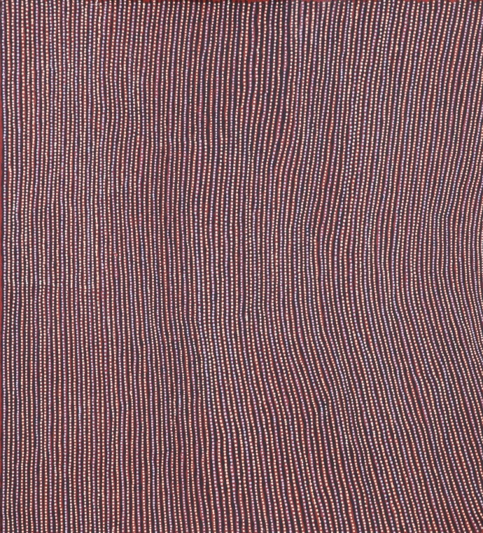 <div class=&#34;artist&#34;><strong>Florrie Watson Napangati</strong></div><div class=&#34;title&#34;><em>Tanyinki II</em>, 2016</div><div class=&#34;medium&#34;>synthetic polymer paint on Belgian linen</div><div class=&#34;dimensions&#34;>61 x 55 cm</div>