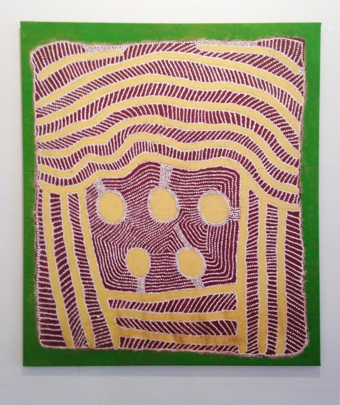 Jimmy Pike, Five Waterholes, 2001