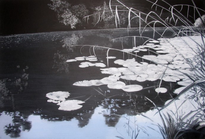 Sheila Clarkson, Waters' Edge 3, 2015