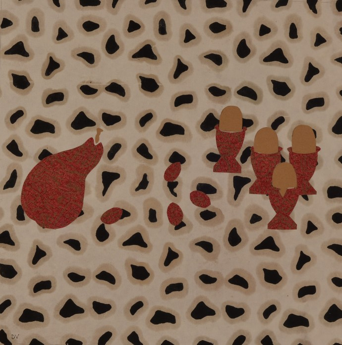 Dione Verulam, Pear, Olives and Eggs, 2014
