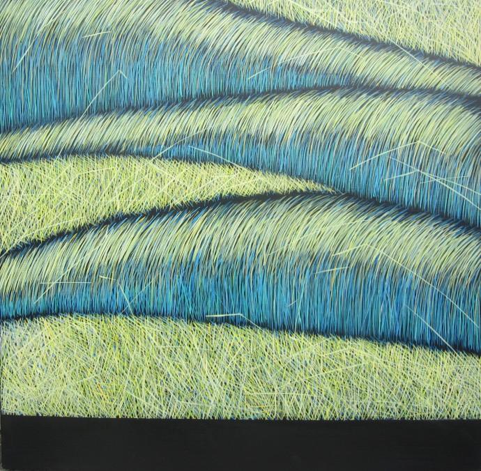 Yvonne Mills-Stanley, Grass Memories II, 2014