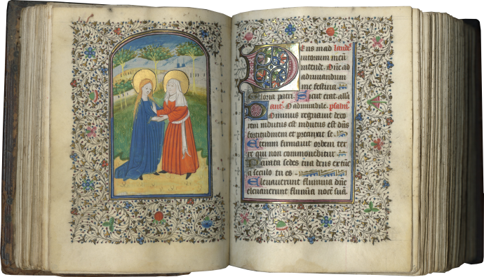 Book of Hours-Prayer Book (Use of Saint-Omer)