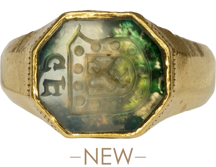 Renaissance Signet Ring of the van den Bergh Family of s'Heerenberg