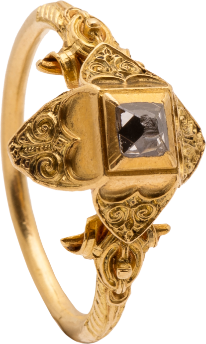 Renaissance Diamond Ring