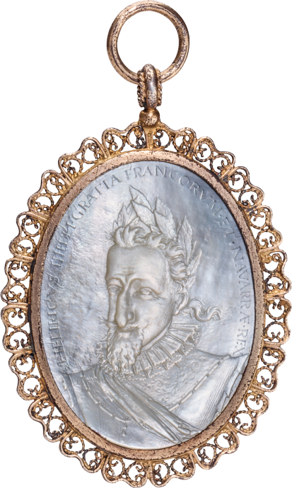 Pendant with Cameo of King Henry IV of France